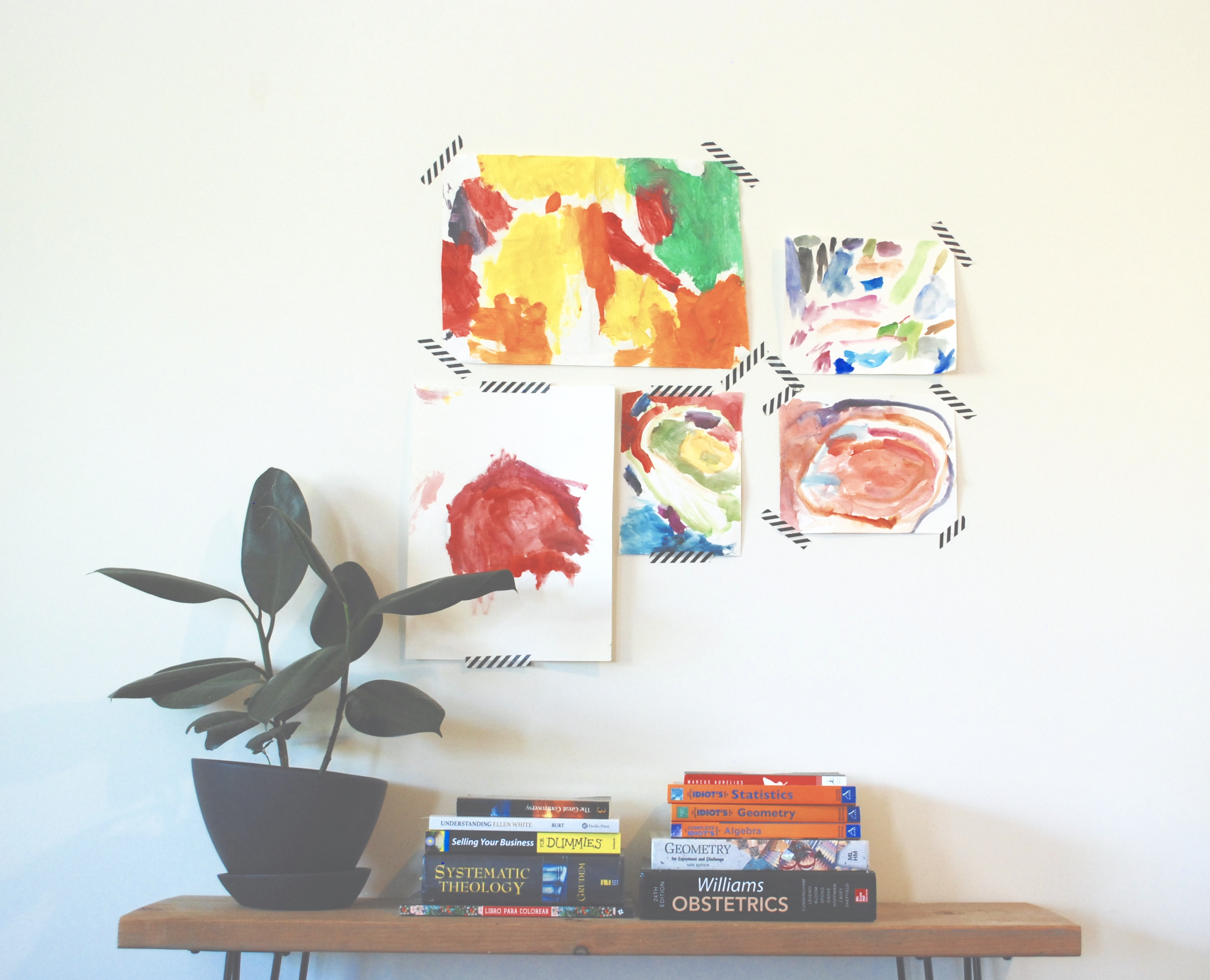 How to Proudly Display your Child's Artwork