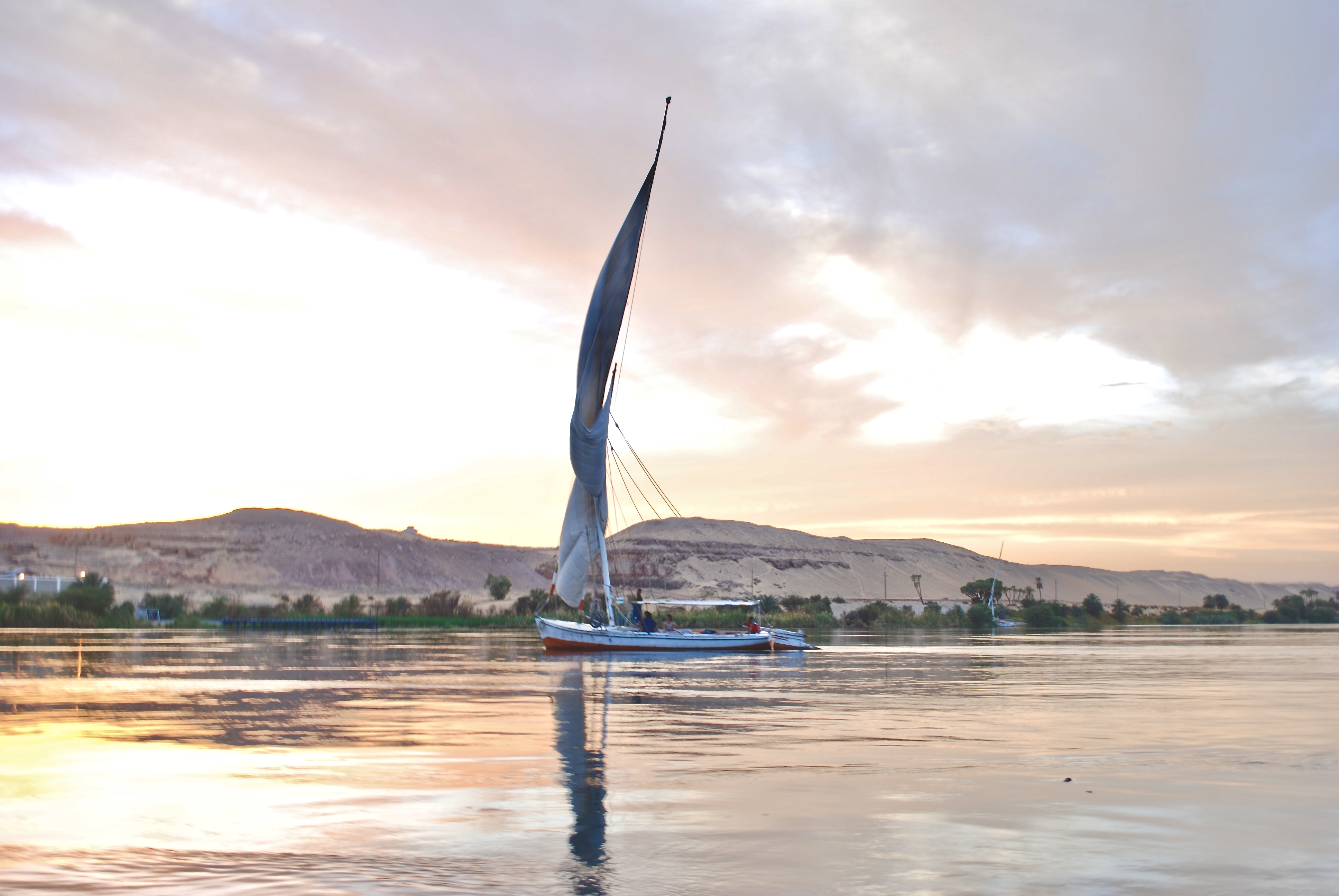 Surviving a Felucca Adventure On the River Nile