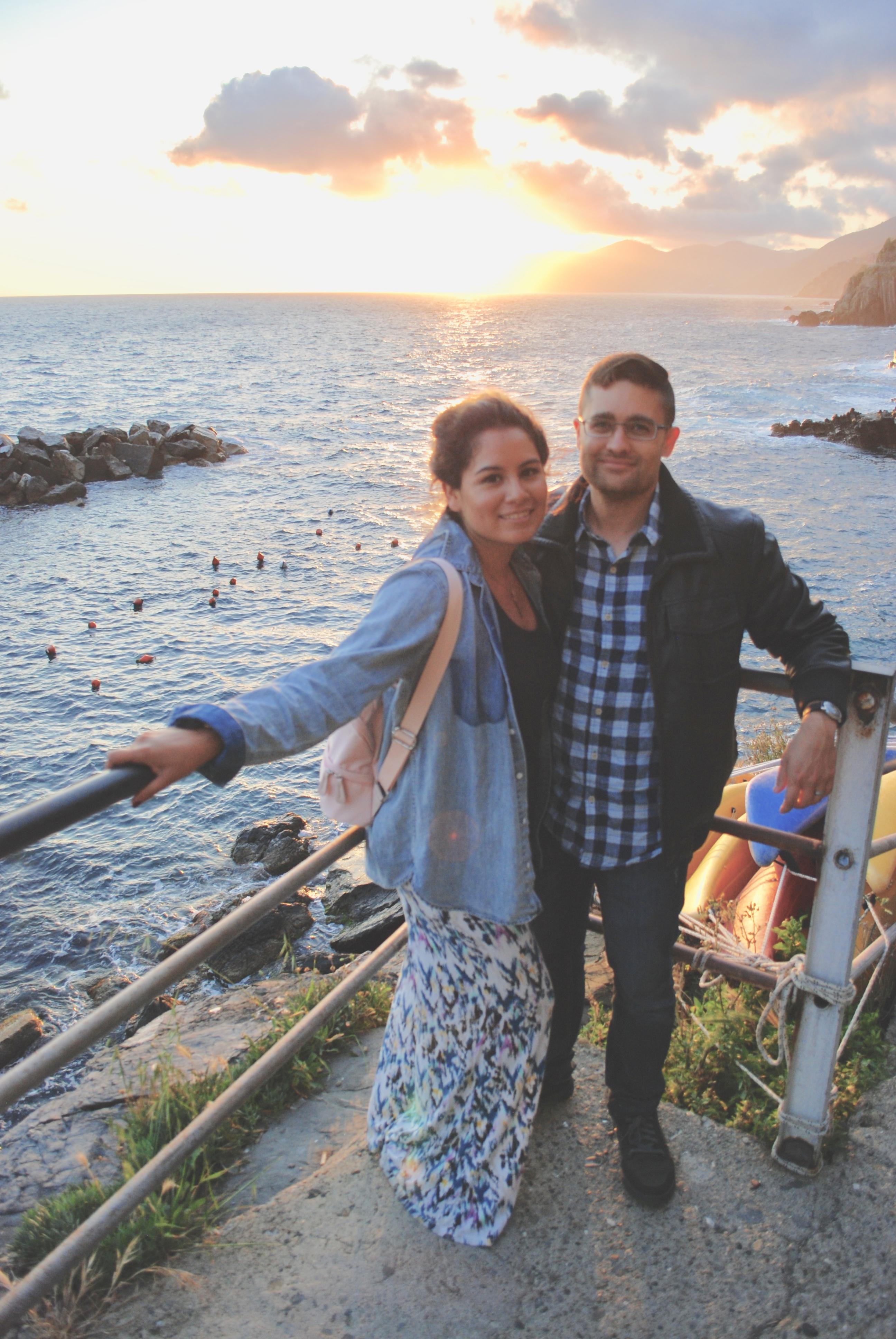 Riomaggiorre Couple