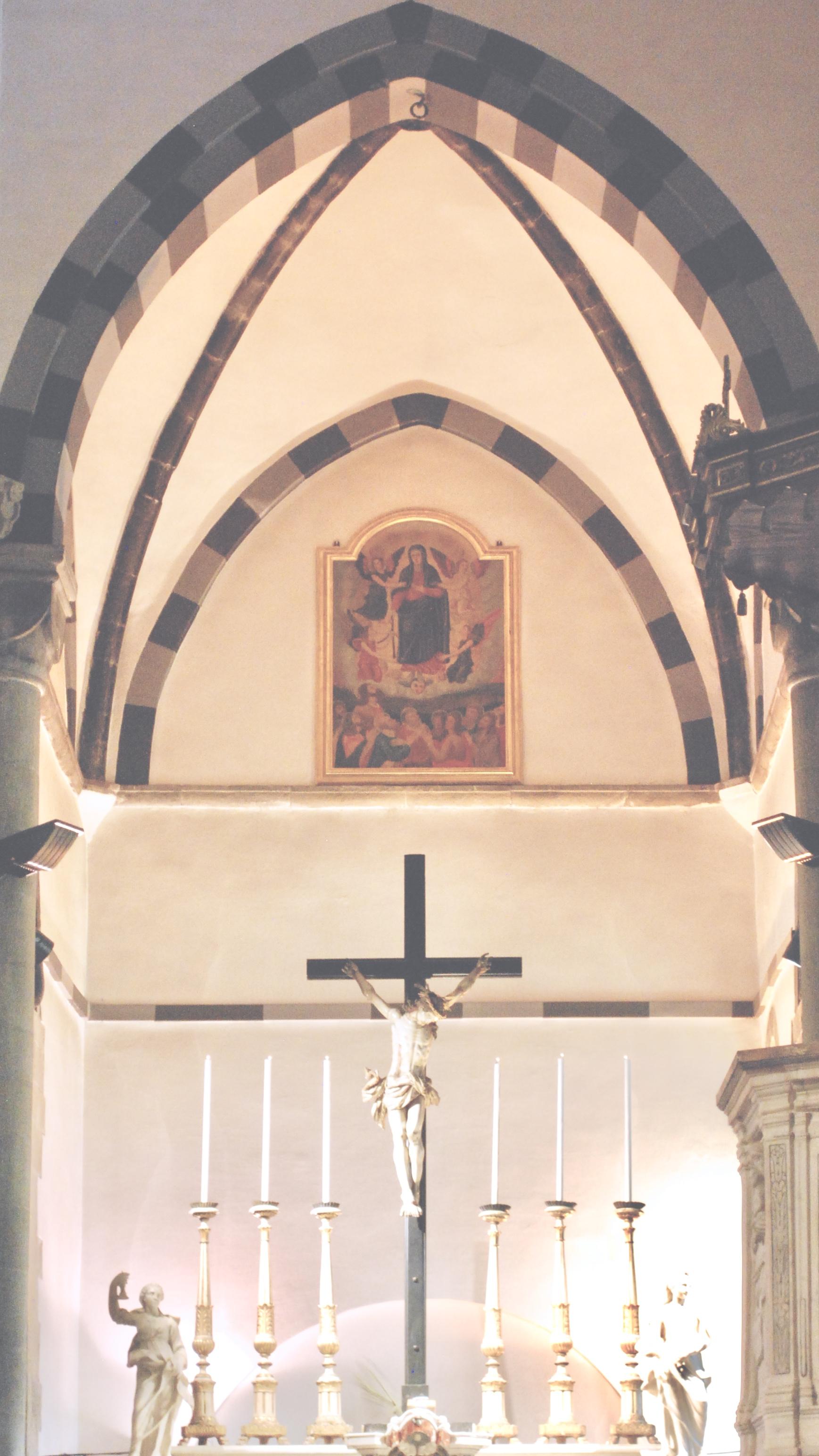 Corniglia Inside Church