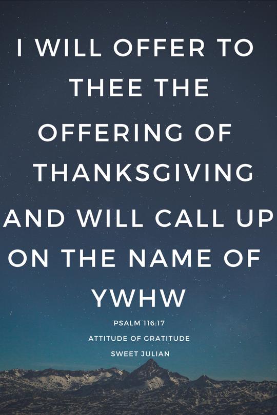 Psalm-Gratitude